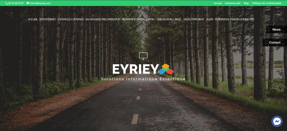 Refonte du site eyriey.com