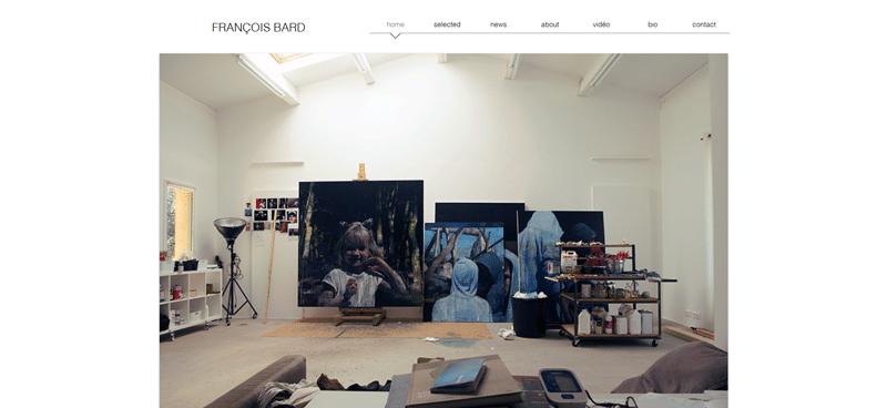 Mise à jour du site www.francoisbard.net