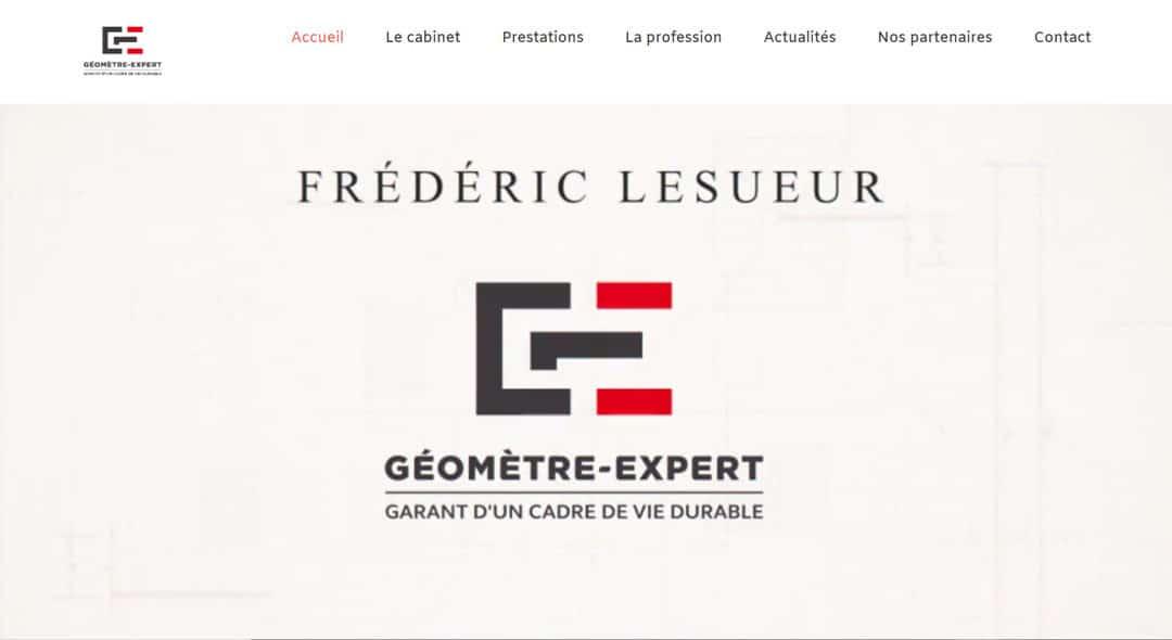 Nouveau site internet www.lesueurgeometre.fr